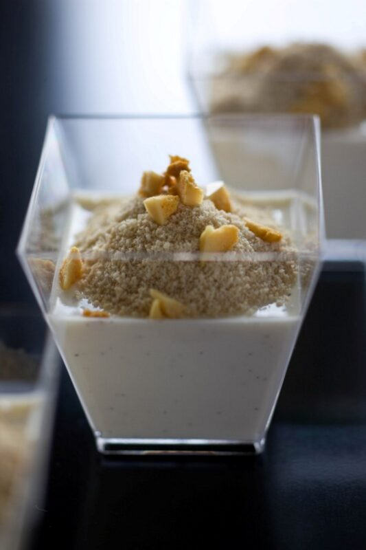 2. PANNA COTTA + FAIRY DUST CRUNCH